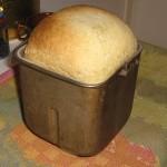 Klar limpa i brödmaskinsform
