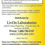 livOn lipospheric directions contents