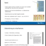 Bild från läkare powerpoint om hur askorbinsyra stör deras mätningar av glucos mm.